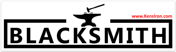 "Decals - ""Blacksmith"" Vinyl Bumper Sticker - FREE SHIPPING"