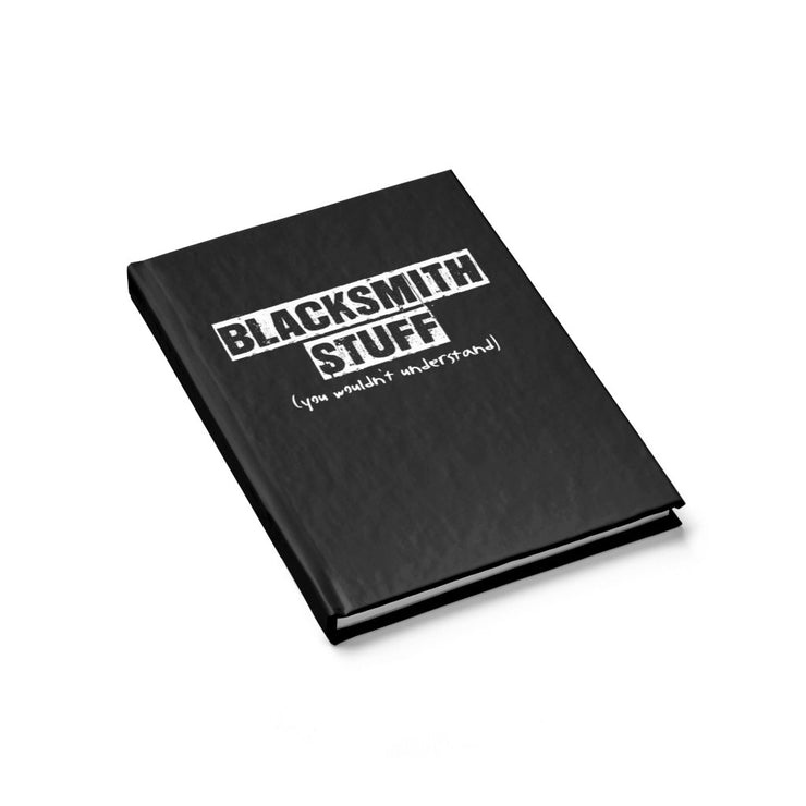 "Paper Products - ""Blacksmith Stuff"" Journal"