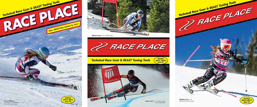 Race Place Catalog Cover Images