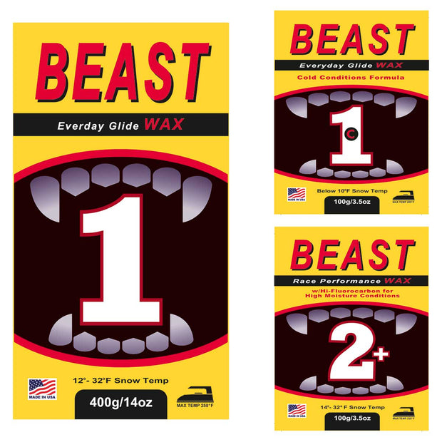 BEAST Essential Race Wax Package
