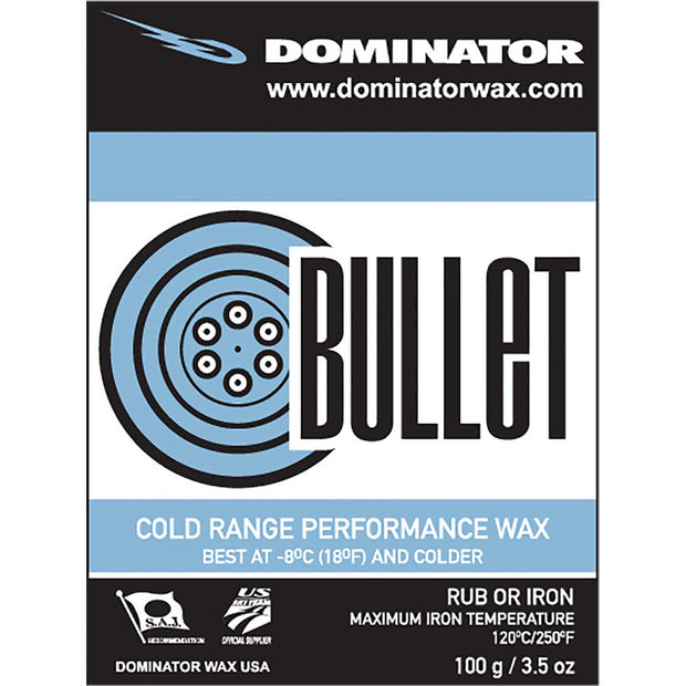 Dominator Bullet Extreme Cold Wax