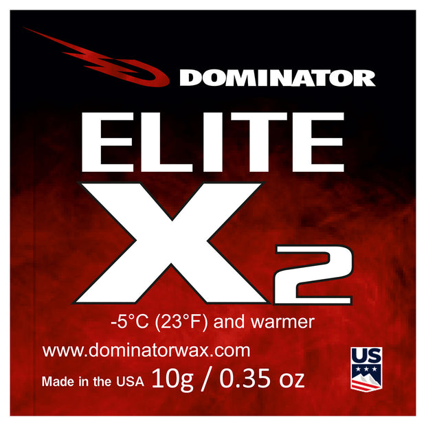 Dominator Elite X Race Wax Overlays