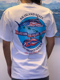 """Fight for the Right to Fish"" Short Sleeve T-Shirt w/ pockets"