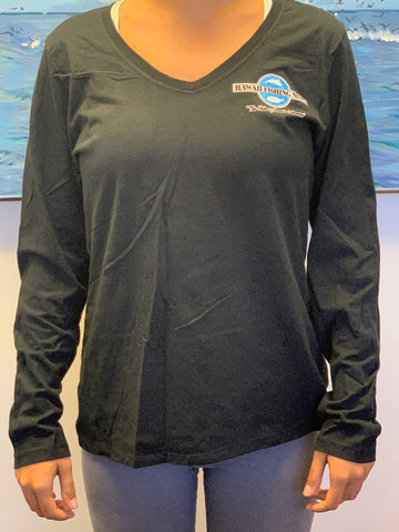 """Fight for the Right to Fish"" Women's Long Sleeve Shirt"
