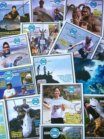 Everyone's Favorite! Hawaii Fishing News Magazine Subscription