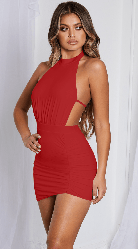 Vánia Robe rouge