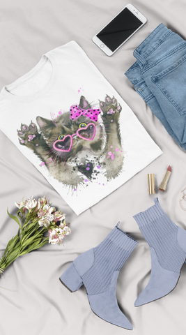 Image of Camiseta Fashion Kid Gatica