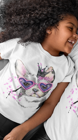 Camiseta Fashion Kid Princesa