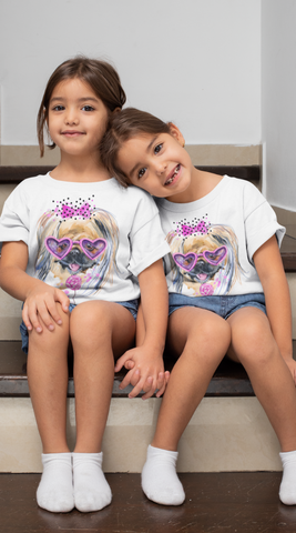 Camiseta Fashion Kid Dog