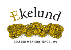 For 16 generations, and over 450 years (!) the Ekelund family has worked using textiles, making Ekelund one of the oldest family owned textile companies in the world! All production takes place in the small town of Horred Sweden, not far from the more well-known city of Gothenburg.
