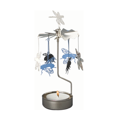Insects - Rotating Carousel Candle Holder