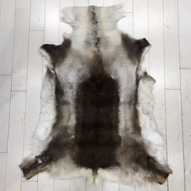 Premium Quality Large #212 Authentic Tanned Reindeer Hide from Lapland