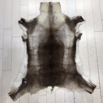 Premium Quality Large #215 Authentic Tanned Reindeer Hide from Lapland
