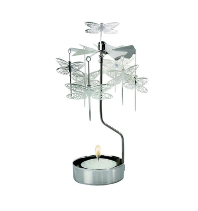 Dragonfly - Rotating Carousel Candle Holder