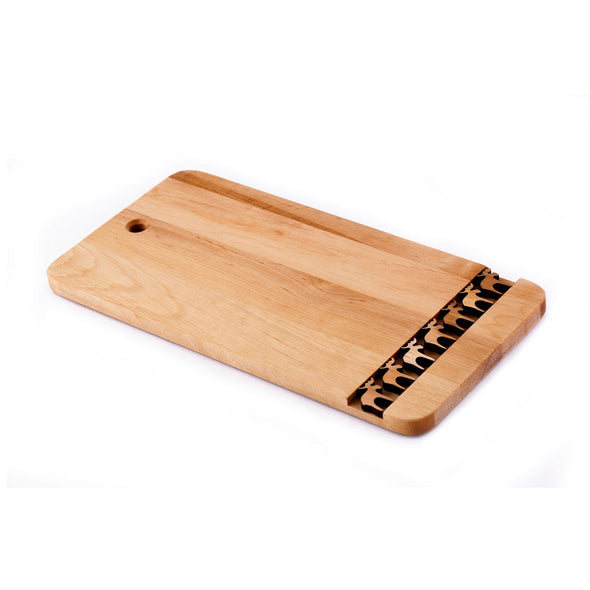 Moose Alderwood Cutting Board
