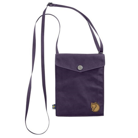 Alpine Purple - Fjallraven Pocket Shoulder Bag