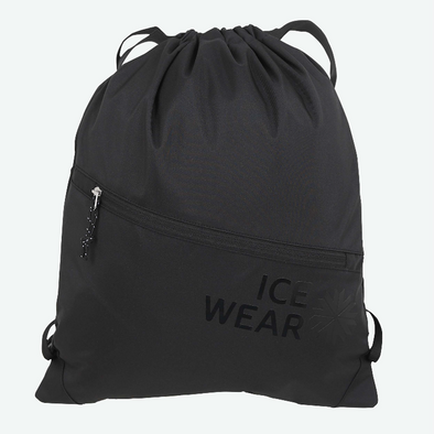 Icelandic Drawstring Bag - Hella - Black