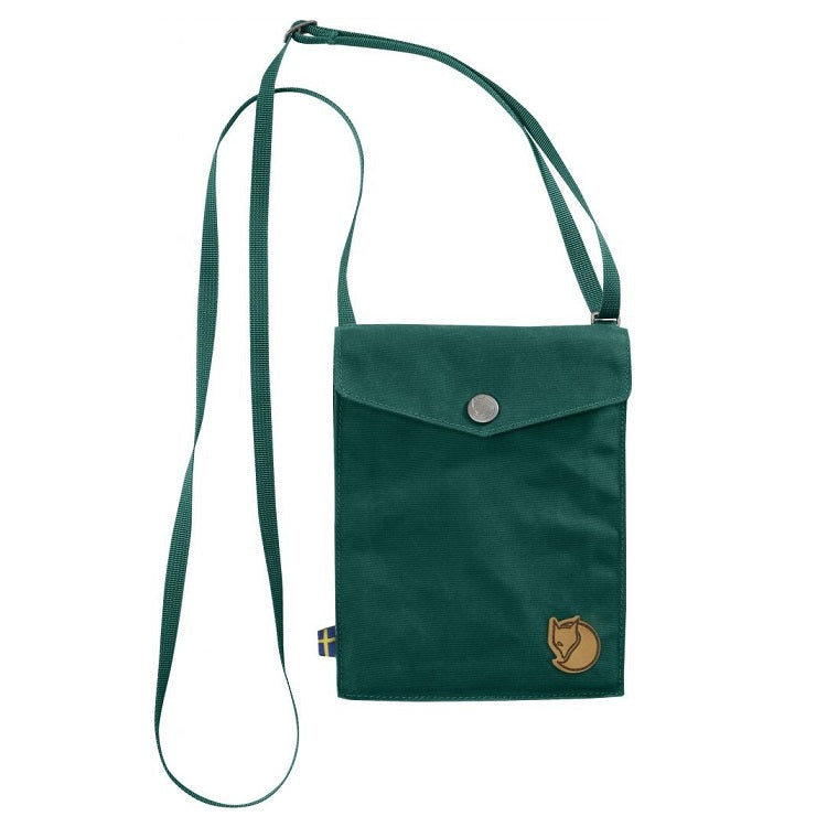 Fjallraven Pocket Shoulder Bag – Copper Green