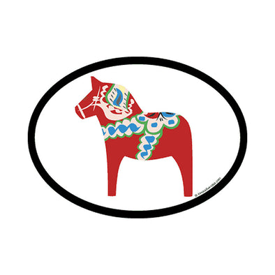 Dala Horse Vinyl Car Decal