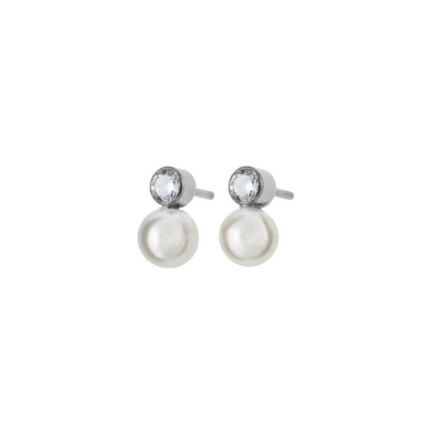 Luna Studs Small Steel Earrings