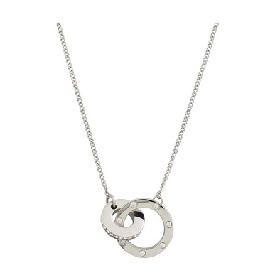 Ida Necklace Short Steel