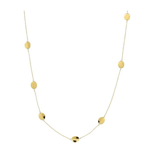 Pebble Mini Multi Necklace Gold
