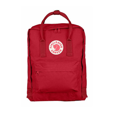 Deep Red - Classic Fjallraven Kanken Backpack