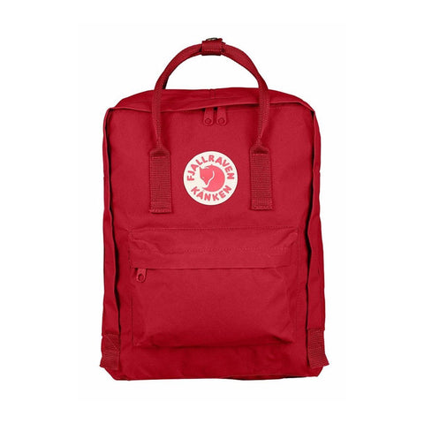 Fjallraven Kanken Classic Backpack – Deep Red