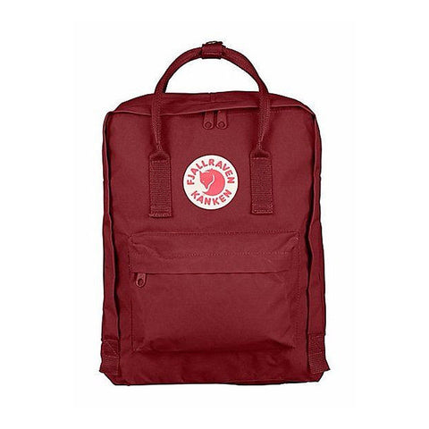 Fjallraven Kanken Classic Backpack – Ox Red