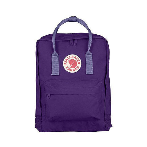 Fjallraven Kanken Classic Backpack – Purple with Violet Straps