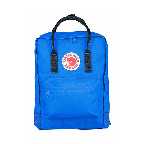 Fjallraven Kanken Classic Backpack – UN Blue with Navy Straps