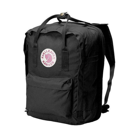 "Fjallraven Kanken Laptop Backpack 15"" – Black"