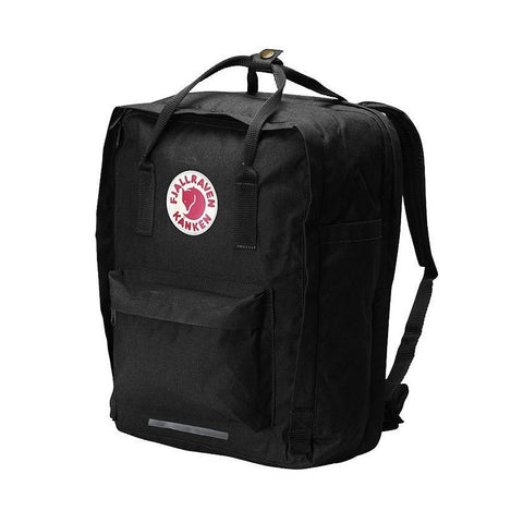 "Fjallraven Kanken Laptop Backpack 17"" – Black"