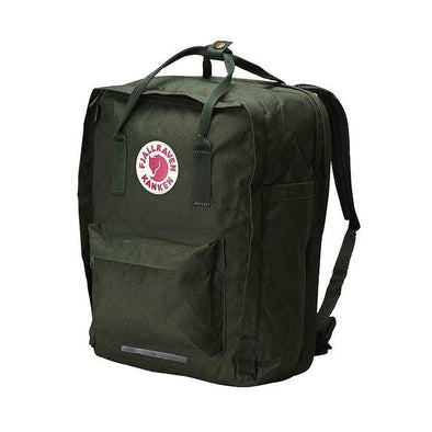 "Forest Green - 17"" Laptop Fjallraven Kanken Backpack"