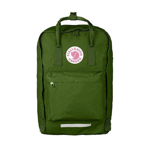"Fjallraven Kanken Laptop Backpack 17"" – Leaf Green"