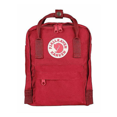 Deep Red - Mini Fjallraven Kanken Backpack
