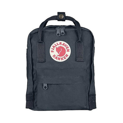 Graphite -  Mini Fjallraven Kanken Backpack