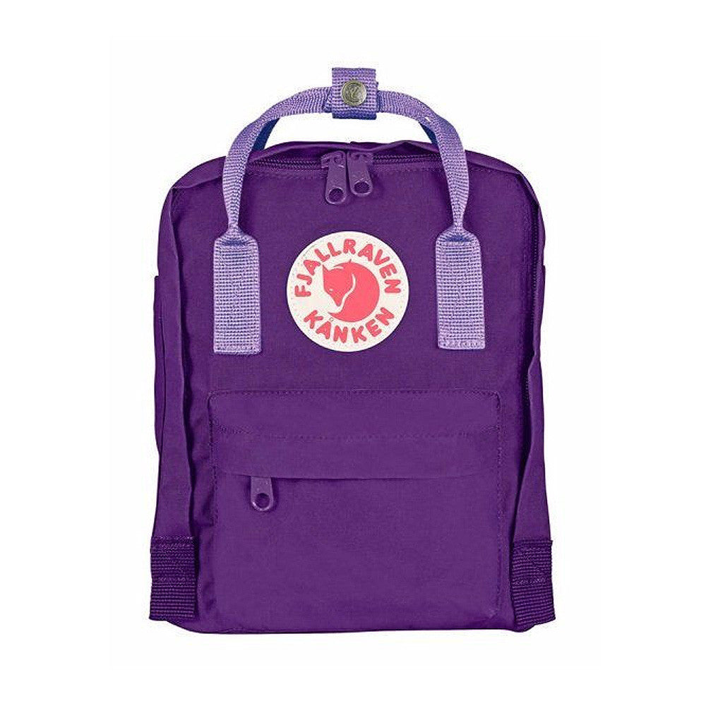 Fjallraven Kanken Mini Backpack – Purple with Violet straps