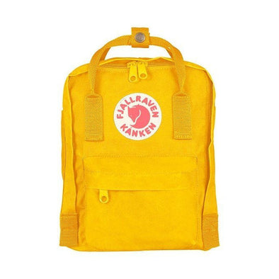 Warm Yellow - Mini Fjallraven Kanken Backpack