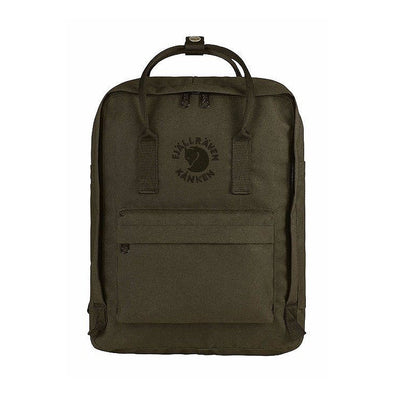 Dark Olive - RE-Kanken Classic Fjallraven Recycled Classic Backpack