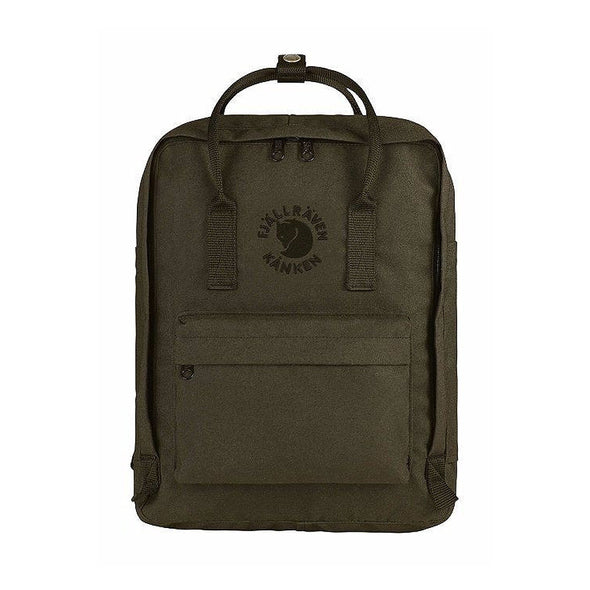 Dark Olive - RE-Kanken Classic Recycled Classic Backpack