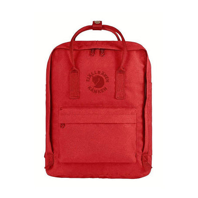 Red - RE-Kanken Classic Fjallraven Recycled Backpack