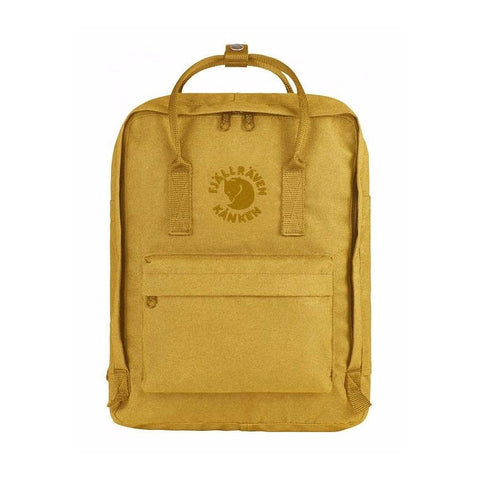 Fjallraven RE-Kanken Recycled Classic Backpack – Sunflower Yellow