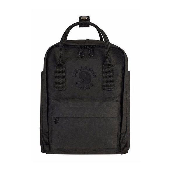 Black - RE-Kanken Mini Recycled Backpack