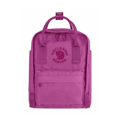 Fjallraven RE-Kanken Recycled Mini Backpack – Pink Rose