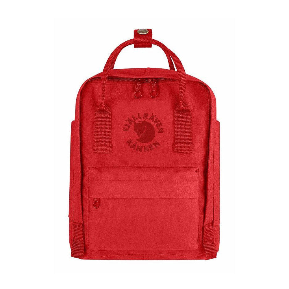 Fjallraven RE-Kanken Recycled Mini Backpack – Red