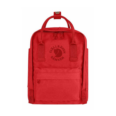 Red -  RE-Kanken Mini Fjallraven Recycled Backpack
