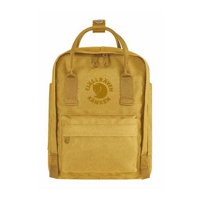 Sunflower Yellow - RE-Kanken Mini Fjallraven Recycled Backpack