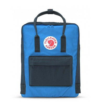 Graphite and UN Blue - Classic Kanken Backpack