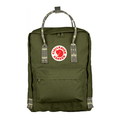 Green - Folk - Classic Kanken Backpack